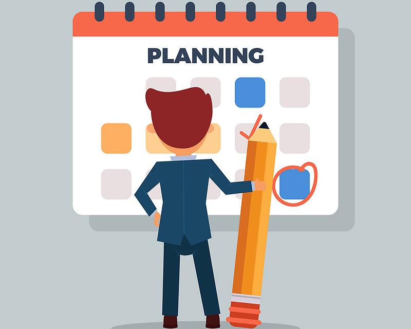 Planear um site